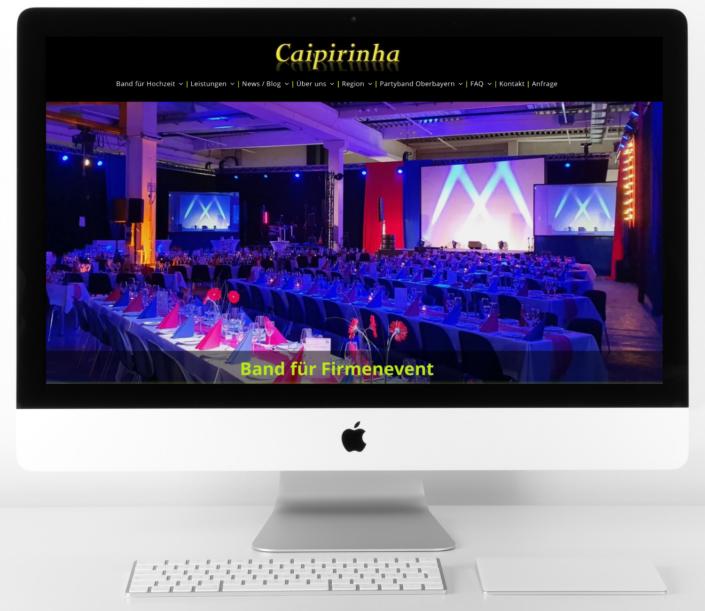 Header Caipirinha Partyband