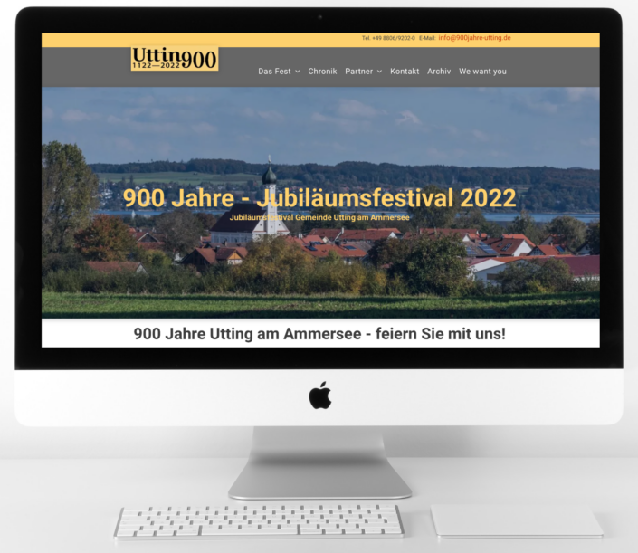 900 Jahre Utting am Ammersee